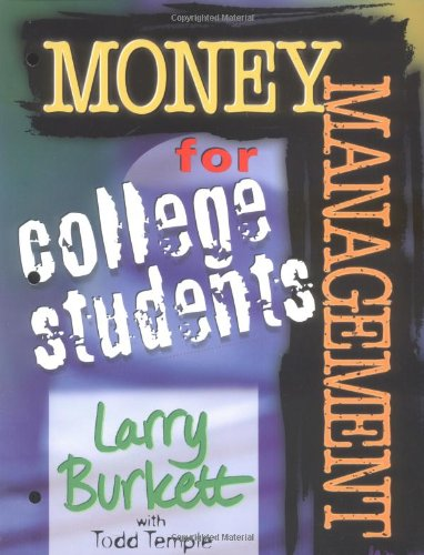 Money Management for College Students  Workbook edition cover