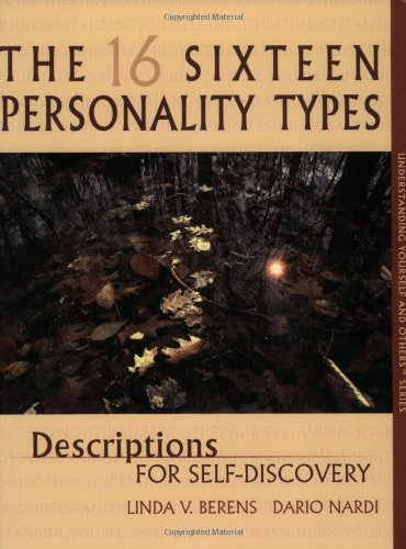 16 Personality Types : Descriptions for Self-Discovery 1st 1999 edition cover