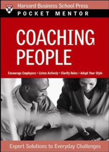 Coaching People Expert Solutions to Everyday Challenges  2007 edition cover