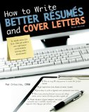 How to Write Better R�sum�s and Cover Letters  3rd 2013 (Revised) edition cover