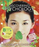 Discovering Psychology  6th 2014 edition cover