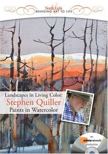 Landscapes in Living Color,Stephen Quiller Paints in Watercolor:  2008 edition cover