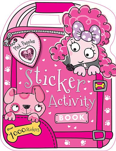 Pink Puppy Sticker Activity Book   2014 9781782359470 Front Cover
