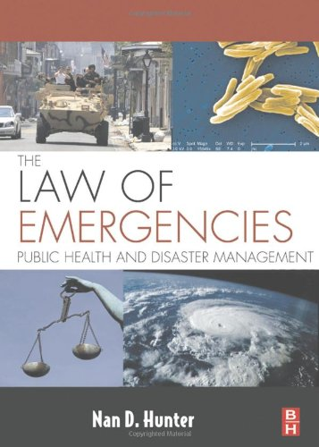 Law of Emergencies Public Health and Disaster Management  2009 edition cover
