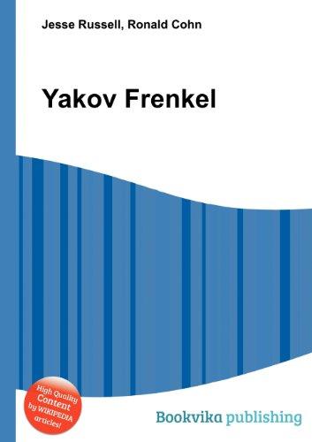 Yakov Frenkel  0 edition cover