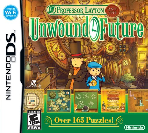 Professor Layton and the Unwound Future - Nintendo DS Nintendo DS artwork