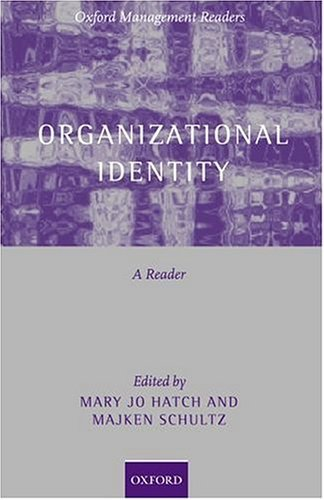 Organizational Identity A Reader  2003 edition cover