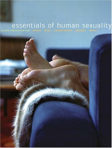 ESSENTIALS OF HUMAN SEXUALITY 2nd 2005 edition cover