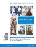 Out of Many: A History of the American People, Books a La Carte Edition  2015 edition cover