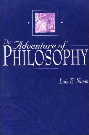 Adventure of Philosophy   1999 9780275965471 Front Cover