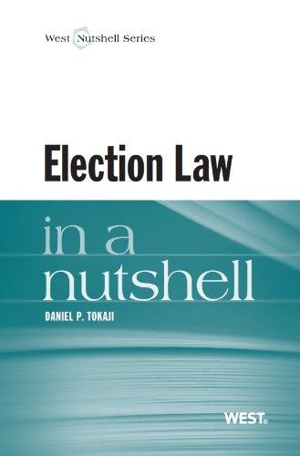 Tokaji's Election Law in a Nutshell   2013 edition cover