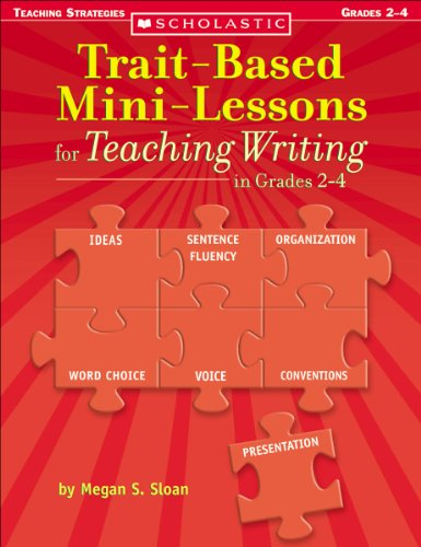 Trait-Based Mini-Lessons for Teaching Writing, Grades 2-4   2005 edition cover