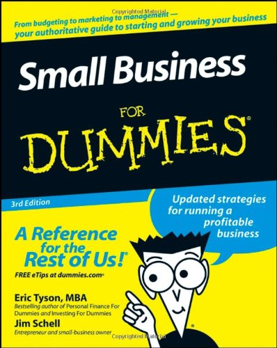 Small Business for Dummies  3rd 2008 edition cover