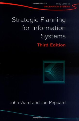 Strategic Planning for Information Systems  3rd 2002 (Revised) 9780470841471 Front Cover