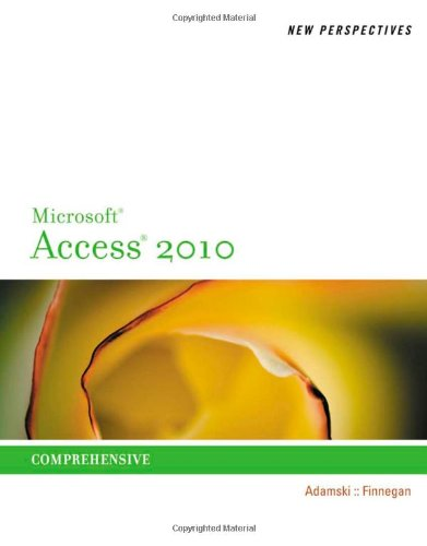 Microsoft� Access� 2010 Comprehensive  2011 9780538798471 Front Cover