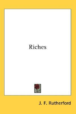 Riches  N/A 9780548036471 Front Cover