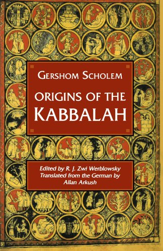 Origins of the Kabbalahby Scholem   1987 edition cover