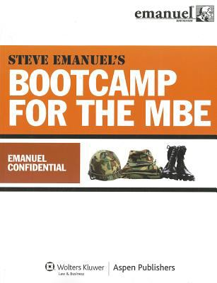 Bootcamp for the Mbe - Emanuel Confidential  Student Manual, Study Guide, etc.  edition cover