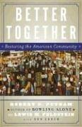 Better Together Restoring the American Community  2004 edition cover