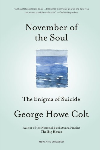 November of the Soul The Enigma of Suicide  2006 9780743264471 Front Cover