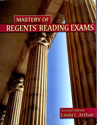 Mastery of Regents' Reading Exams 2nd 2005 (Revised) 9780757517471 Front Cover