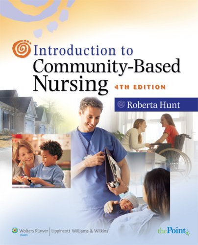 Introduction to Community-Based Nursing  4th 2008 (Revised) edition cover