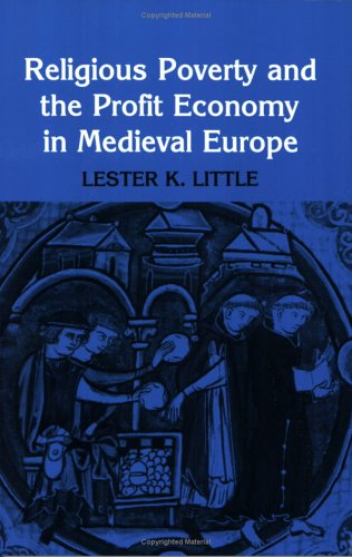 Religious Poverty and the Profit Economy in Medieval Europe  N/A edition cover