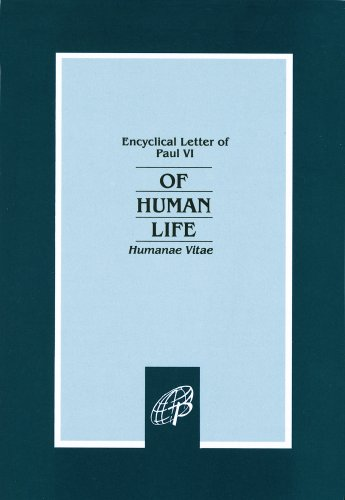Of Human Life : Humanae Vitae 1st edition cover