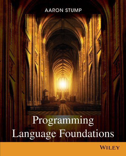 Programming Language Foundations   2014 9781118007471 Front Cover