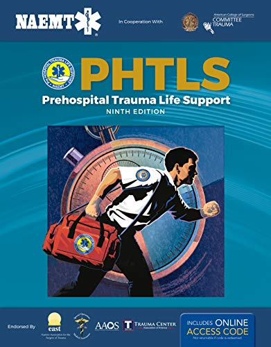PHTLS 9E: Print PHTLS Textbook with Digital Access to Course Manual Ebook  9th 2020 (Revised) 9781284171471 Front Cover