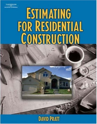 Estimating for Residential Construction   2006 9781401879471 Front Cover