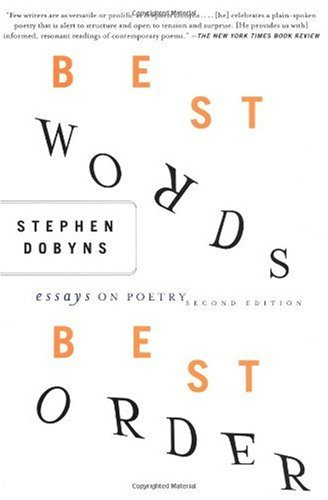 Best Words, Best Order Essays on Poetry 2nd 2003 (Revised) edition cover