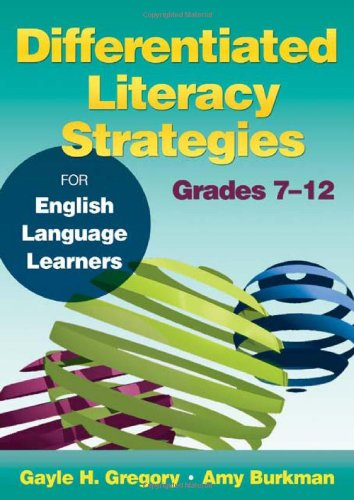 Differentiated Literacy Strategies for English Language Learners, Grades 7-12   2012 edition cover
