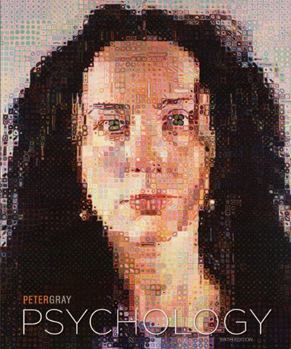 Psychology  6th 2011 edition cover