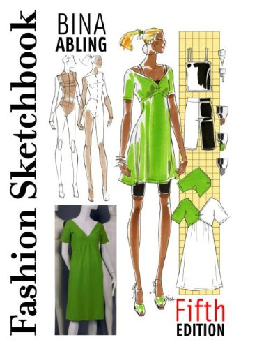 Fashion Sketchbook  5th 2007 (Revised) edition cover