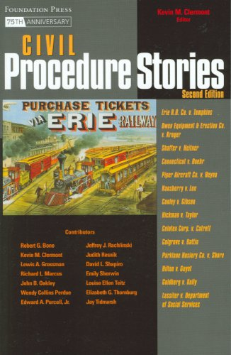 Civil Procedure Stories  2nd 2008 (Revised) edition cover