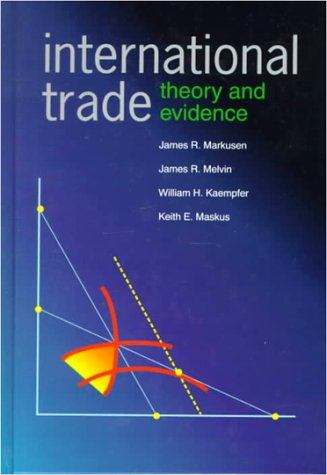 International Trade Theory and Evidence  1995 edition cover