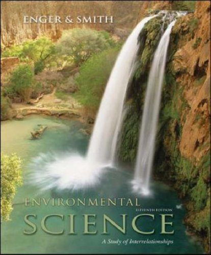 Environmental Science A Study of Interrelationships 11th 2008 (Revised) edition cover