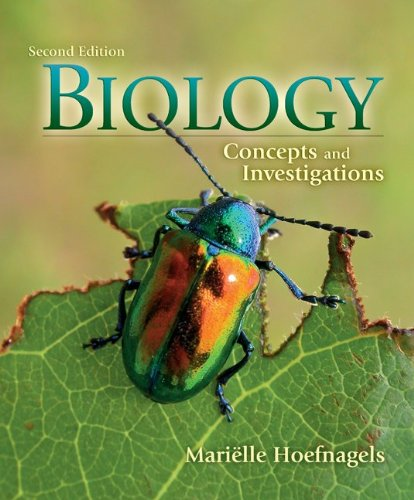 Biology Concepts and Investigations 2nd 2012 9780073403472 Front Cover
