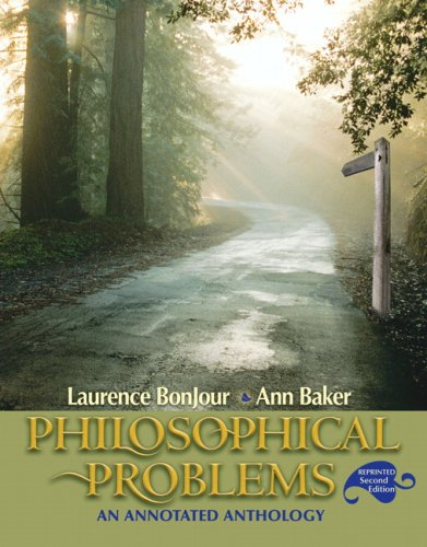 Philosophical Problems An Annotated Anthology 2nd 2008 (Annotated) edition cover