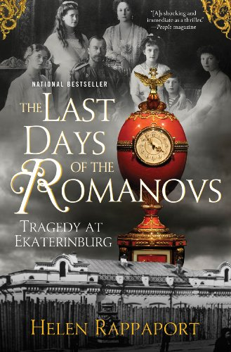 Last Days of the Romanovs Tragedy at Ekaterinburg N/A edition cover