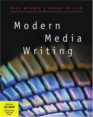 Modern Media Writing   2003 9780534520472 Front Cover