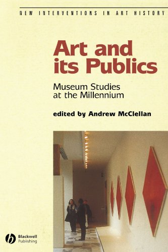 Art and Its Publics Museum Studies at the Millennium  2003 edition cover