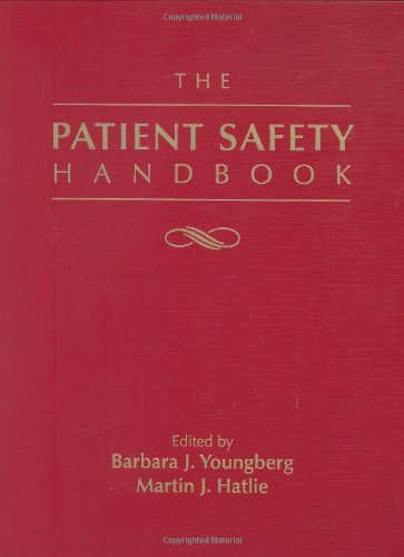 Patient Safety Handbook   2004 edition cover