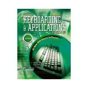 Paradigm Keyboarding and Applications Sessions 1-60 4th 1999 9780763801472 Front Cover