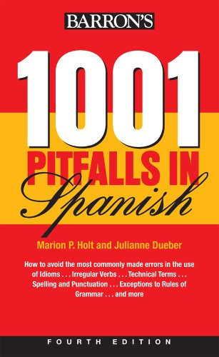 1001 Pitfalls in Spanish  4th 2010 (Revised) edition cover