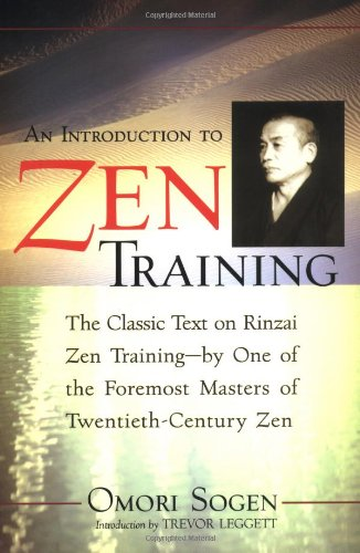 Introduction to Zen Training   2001 (Reprint) edition cover