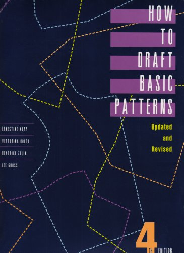 How to Draft Basic Patterns  4th 1991 (Revised) edition cover