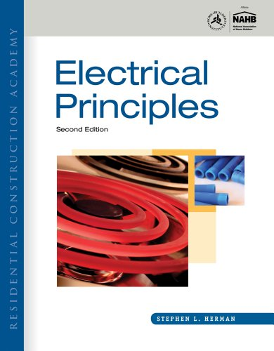 Residential Construction Academy Electrical Principles 2nd 2012 edition cover