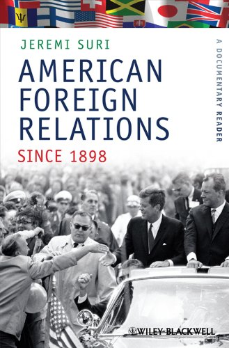 American Foreign Relations since 1898 A Documentary Reader  2010 edition cover